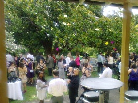 nsw writers centre garden wedding
