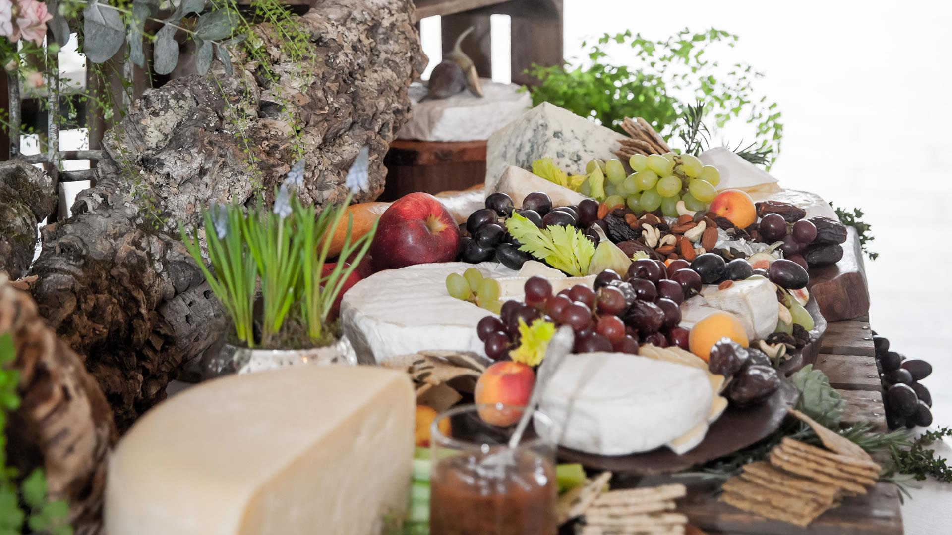 catering sydney grazing cheese station