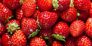 using strawberries in catering