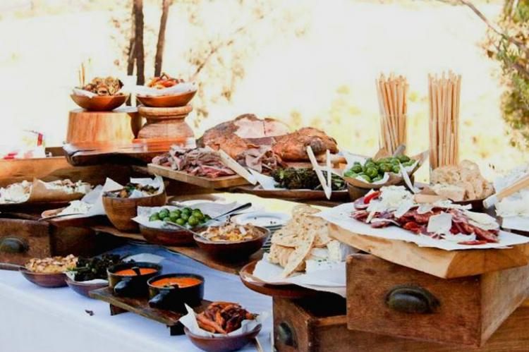 sydney catering grazing tables wedding reception