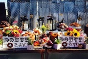 outdoor food stations catering sydney