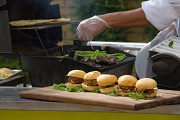 burger bar catering food stations