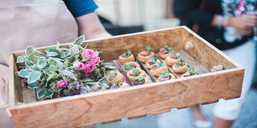 Themed canapes sydney