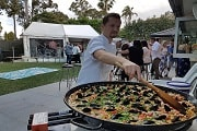 paella food station sydney catering