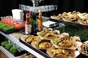 taco bar food station catering